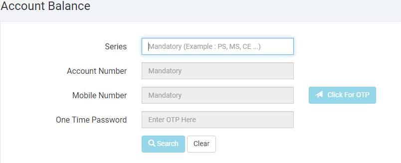 Download GPF account slip