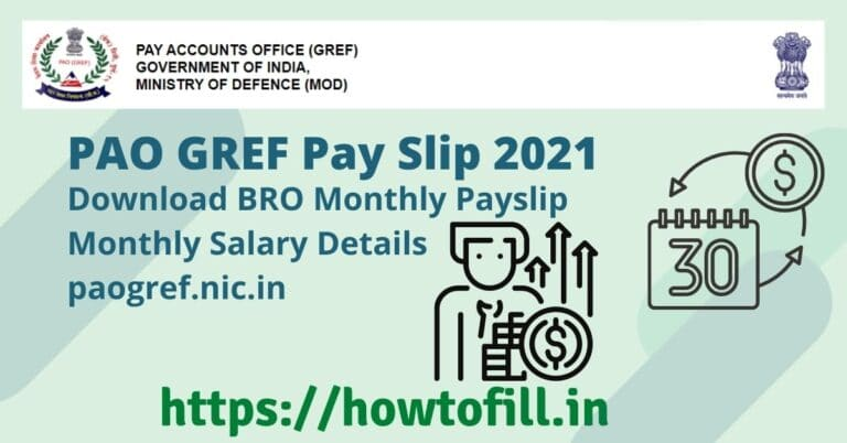 PAO GREF Pay Slip
